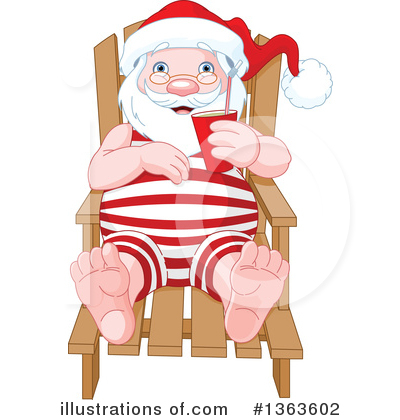 Santa Clipart #1363602 by Pushkin