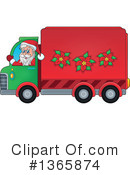 Royalty-Free (RF) Santa Clipart Illustration #1365874