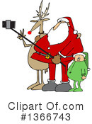 Royalty-Free (RF) Santa Clipart Illustration #1366743