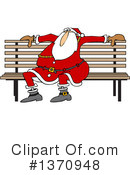 Royalty-Free (RF) Santa Clipart Illustration #1370948