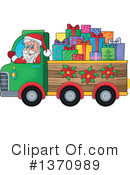 Royalty-Free (RF) Santa Clipart Illustration #1370989