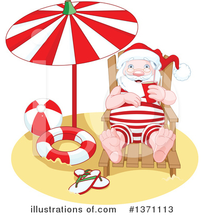Santa Clipart #1371113 by Pushkin