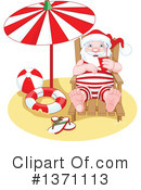 Santa Vacation Clipart #1 - 36 Royalty-Free (RF) Illustrations