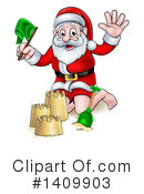 Royalty-Free (RF) Santa Clipart Illustration #1409903