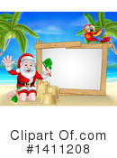 Royalty-Free (RF) Santa Clipart Illustration #1411208