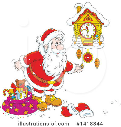 Christmas Clipart #1418844 by Alex Bannykh