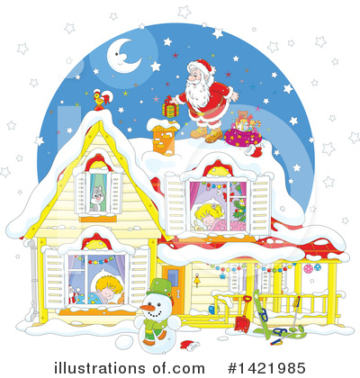 Christmas Clipart #1421985 by Alex Bannykh