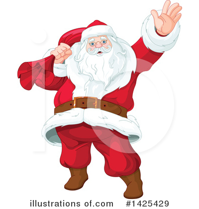 Santa Clipart #1425429 by Pushkin