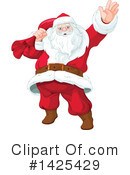 Royalty-Free (RF) Santa Clipart Illustration #1425429