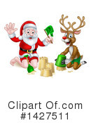 Royalty-Free (RF) Santa Clipart Illustration #1427511