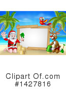 Royalty-Free (RF) Santa Clipart Illustration #1427816