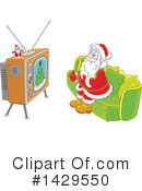 Santa Clipart #1429550 by Alex Bannykh