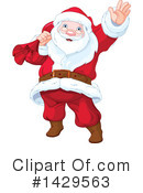 Royalty-Free (RF) Santa Clipart Illustration #1429563