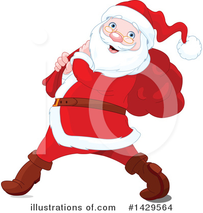 Santa Clipart #1429564 by Pushkin