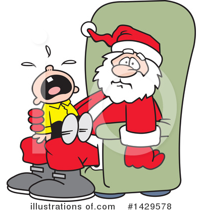 Santa Clipart #1429578 by Johnny Sajem