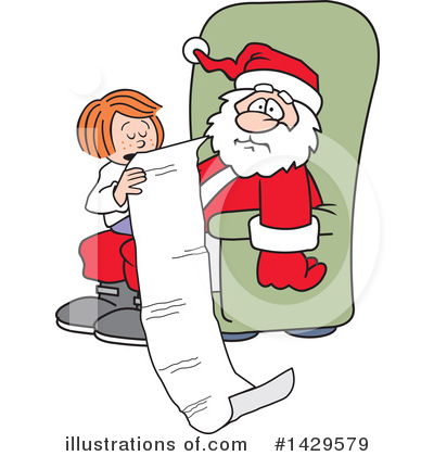Christmas Clipart #1429579 by Johnny Sajem