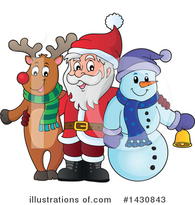Christmas Clipart #1430843 by visekart