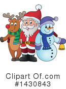 Royalty-Free (RF) Santa Clipart Illustration #1430843