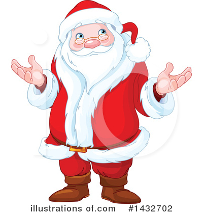 Santa Clipart #1432702 by Pushkin