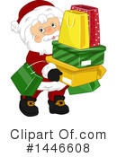 Royalty-Free (RF) Santa Clipart Illustration #1446608