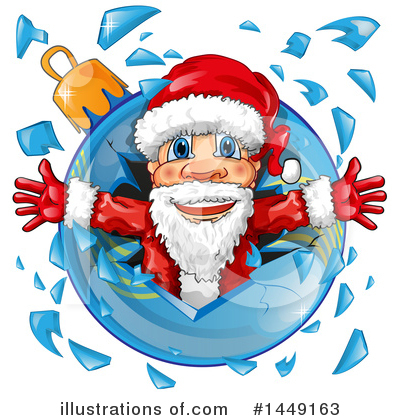 Santa Clipart #1449163 by Domenico Condello