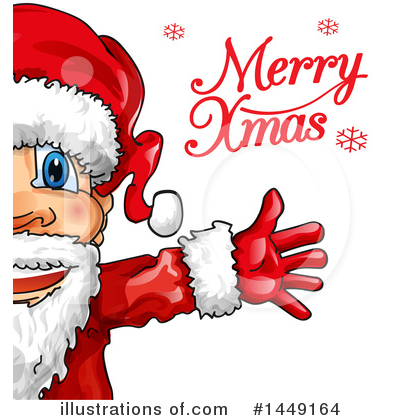 Santa Clipart #1449164 by Domenico Condello
