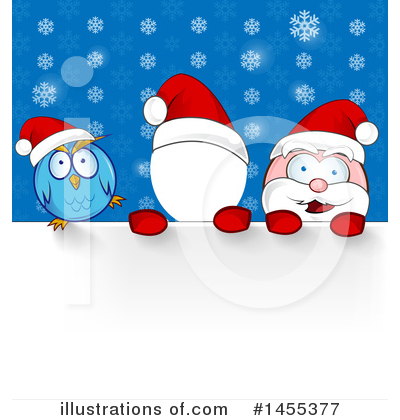Santa Clipart #1455377 by Domenico Condello