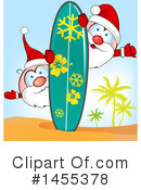 Royalty-Free (RF) Santa Clipart Illustration #1455378