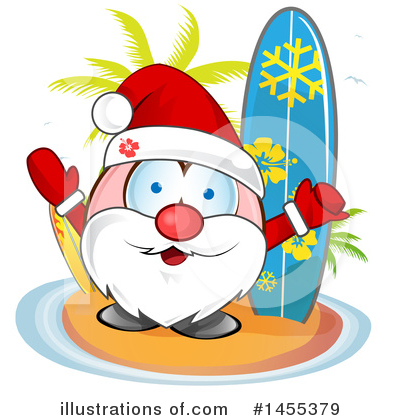 Surfing Clipart #1455379 by Domenico Condello
