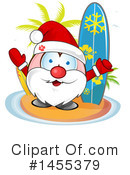 Royalty-Free (RF) Santa Clipart Illustration #1455379