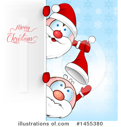 Santa Clipart #1455380 by Domenico Condello