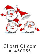 Royalty-Free (RF) Santa Clipart Illustration #1460055