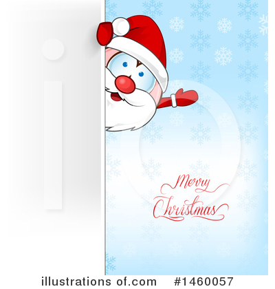 Santa Clipart #1460057 by Domenico Condello