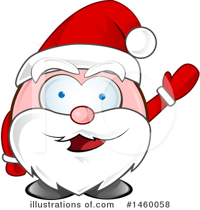 Santa Clipart #1460058 by Domenico Condello
