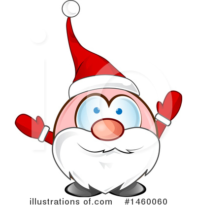 Santa Clipart #1460060 by Domenico Condello