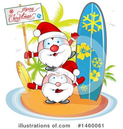 Santa Clipart #1460061 by Domenico Condello