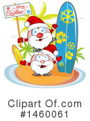 Royalty-Free (RF) Santa Clipart Illustration #1460061