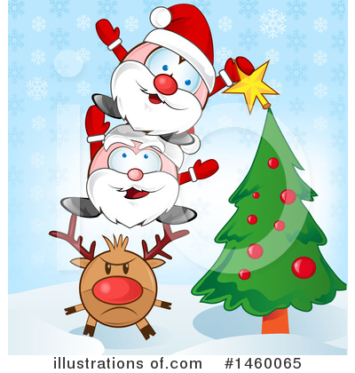 Santa Clipart #1460065 by Domenico Condello