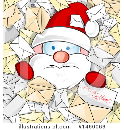 Santa Clipart #1460066 by Domenico Condello