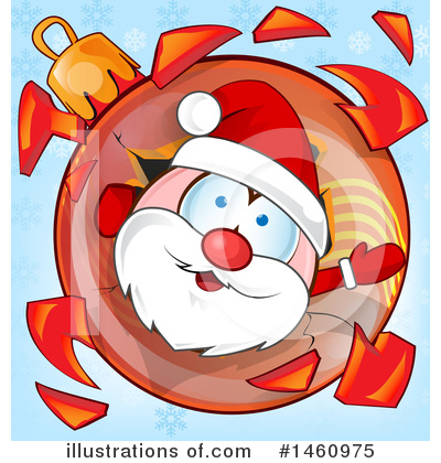 Santa Clipart #1460975 by Domenico Condello