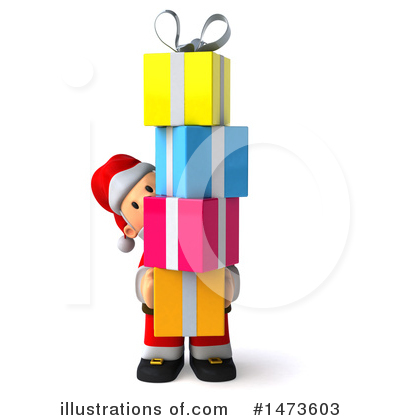 Royalty-Free (RF) Santa Clipart Illustration by Julos - Stock Sample #1473603