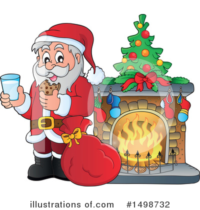 Fireplace Clipart #1498732 by visekart