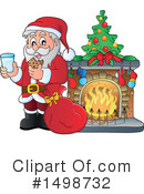 Royalty-Free (RF) Santa Clipart Illustration #1498732
