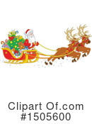 Royalty-Free (RF) Santa Clipart Illustration #1505600