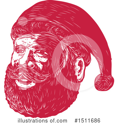 Royalty-Free (RF) Santa Clipart Illustration by patrimonio - Stock Sample #1511686