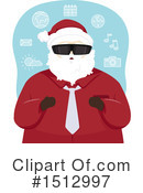 Santa Clipart #1512997 by BNP Design Studio