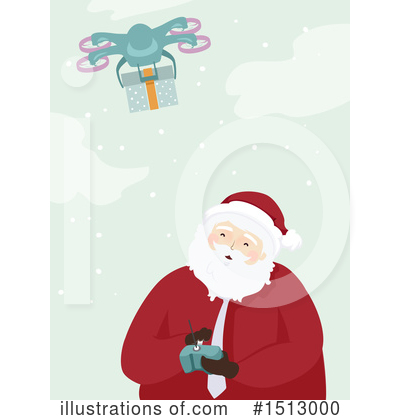 Santa Clipart #1513000 by BNP Design Studio