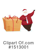 Santa Clipart #1513001 by BNP Design Studio