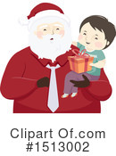Santa Clipart #1513002 by BNP Design Studio