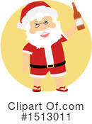 Santa Clipart #1513011 by BNP Design Studio